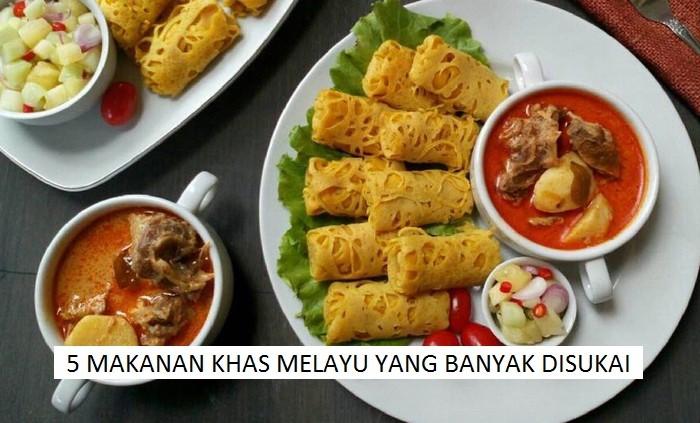 Makanan Khas Melayu