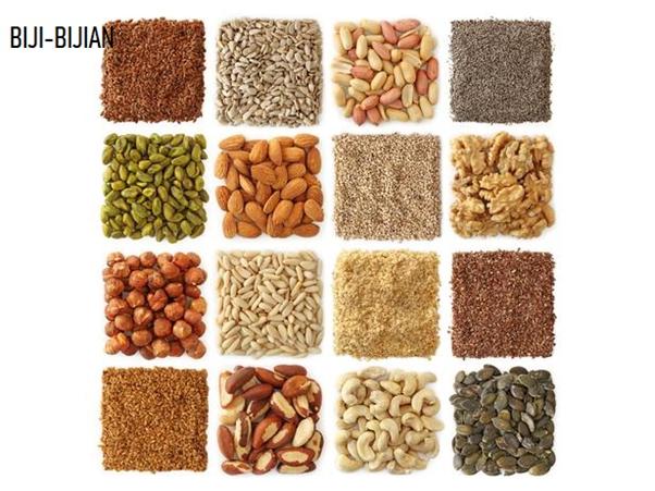 Biji-bijian dan kacang